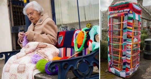 Esta Ancianita es la artista urbana más longeva del mundo Tiene 104 Años