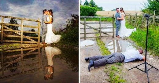 Estos fotógrafos realmente aman su profesión y arriesgan todo por esa toma perfecta