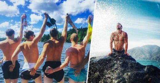 Las fotos vanas de instagram que algunas chicas suben todo el día ahora tienen su contraparte masculina, divertidamente parodiamica
