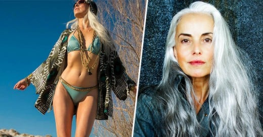 Yasmina Rossi Una abulita que es una modelo aun cotizada en la industria de la moda