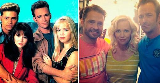 Los años no pasan en vano, los actores de tan famosa serie ya lo reflejan