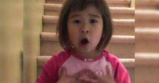 La inteligencia de esta infanta sorprendio con sus respuestas a una problemática familiar