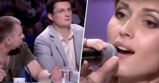 Los jueces de X Factor Ucrania estaban escuchando a esta chica, sorprendidos para su acuación,duan de su calidad de voz, la someten a otra prueba... los sigue sorprendiendo