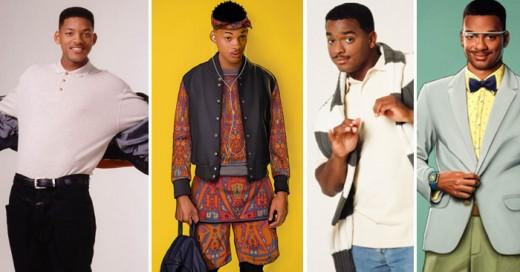 Si el príncipe del Rap se estrenara en este año, así lucirían sus protagonistas