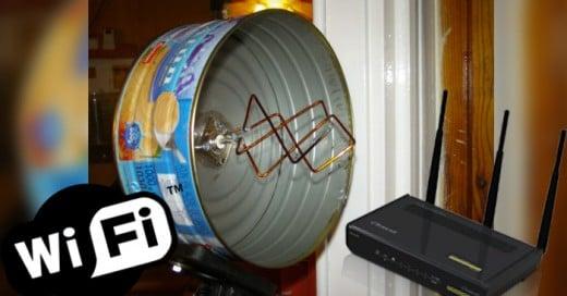 Ingeniosas ideas caseras para mejorar la recepción de wifi