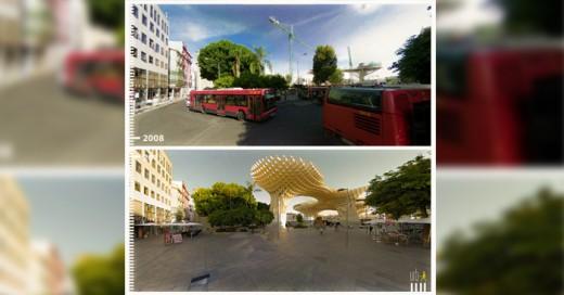 Google Street View es un gran reflejo de como cambia nuestro entorno