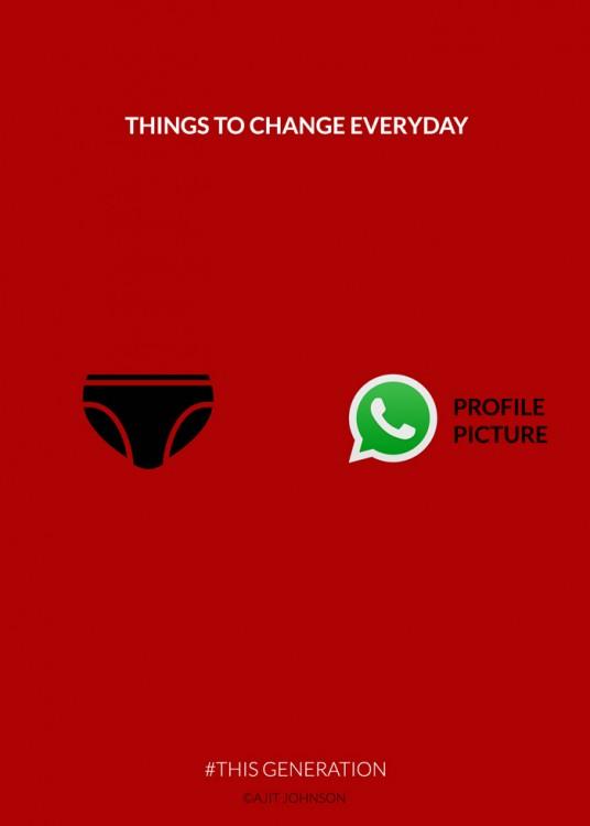 Cosas que cambian todos los días en esta generación