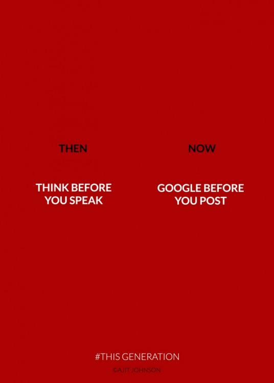 antes y ahoracuando buscas hablar