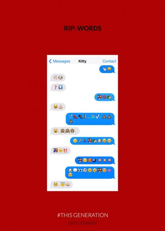 mensajes de emoticones