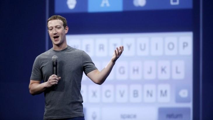 Mark Zuckerberg explicando la función del botón dislike