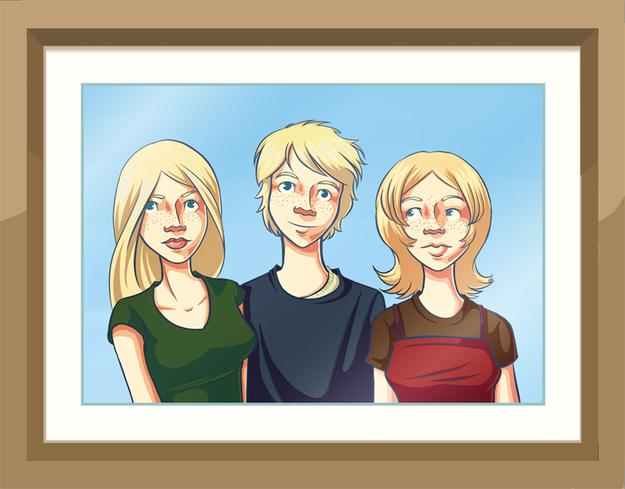 Hijos de Bill y Fleur Weasley, personajes de la saga de Harry Potter