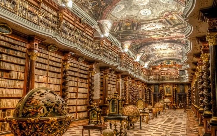 biblioteca Klementinum en República Checa