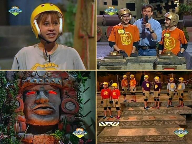 Leyendas del templo escondido serie en Nickelodeon