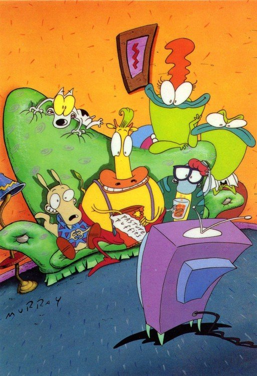 La vida moderna de Rocko, caricatura de Nickelodeon