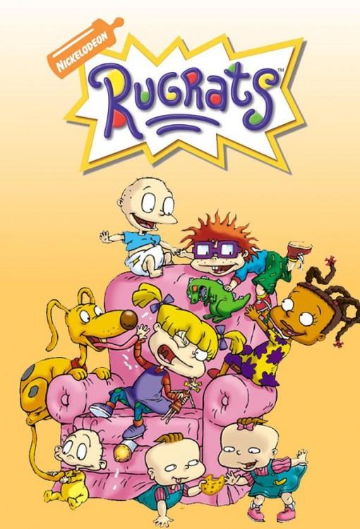 Poster de los Rugrats de Nickelodeon