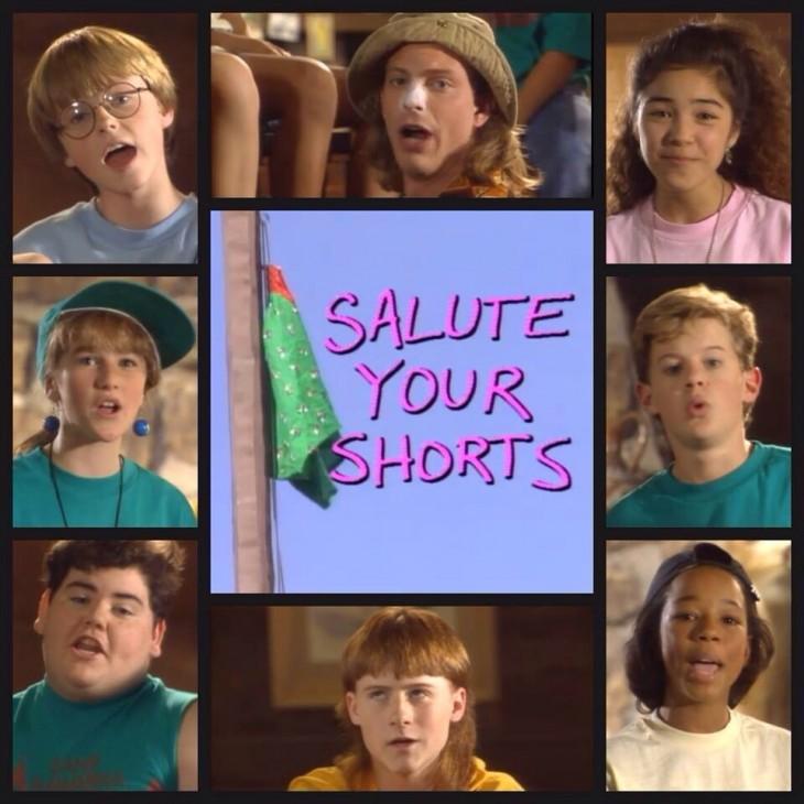 Salute your shorts serie de televisión en Nickelodeon