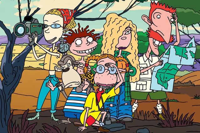 Los Thornberrys caricatura de los 90 en Nickelodeon