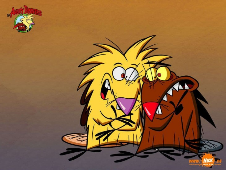 Los castores cascarrabias caricaturas de los 90´s Nickelodeon