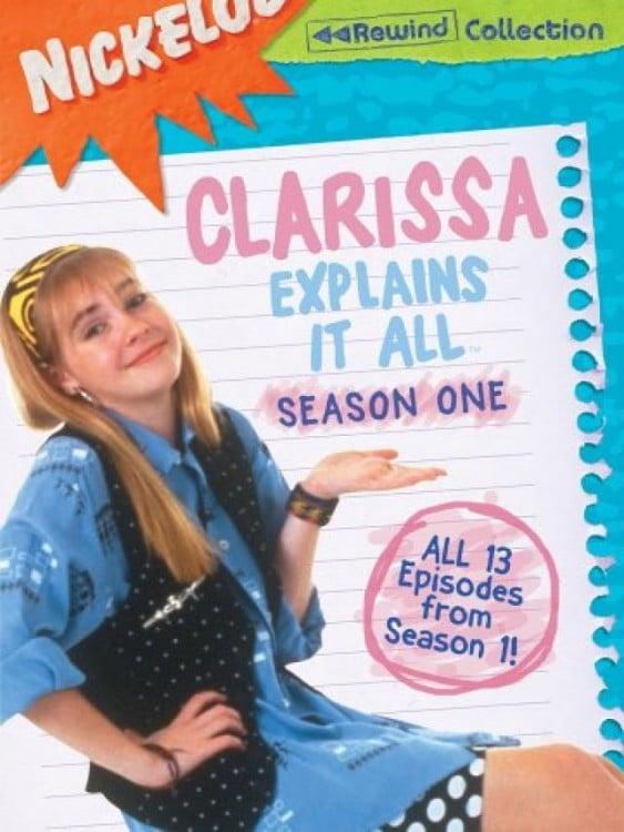 Poster de la serie de Clarissa lo sabe todo en Nickelodeon