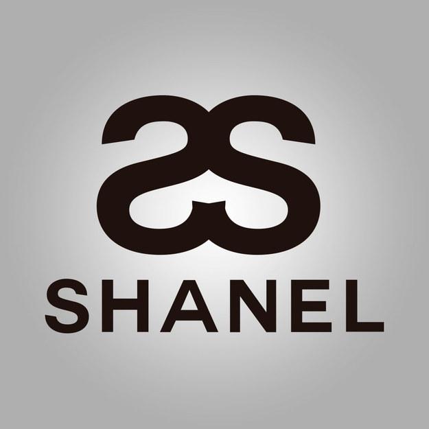 """logo de la marca chanel mal escrita con S """"Shanel"""""""