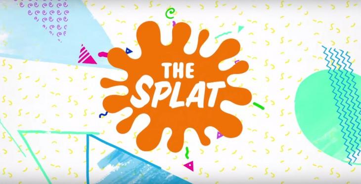 """Logotipo de """"The Splat"""" el nuevo canal de Nickelodeon"""
