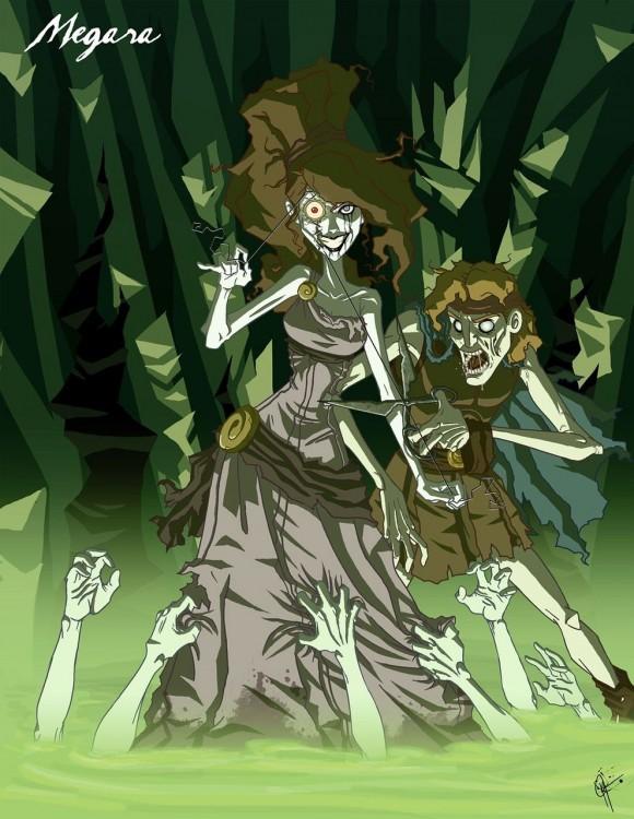 megara, princesa de hércules