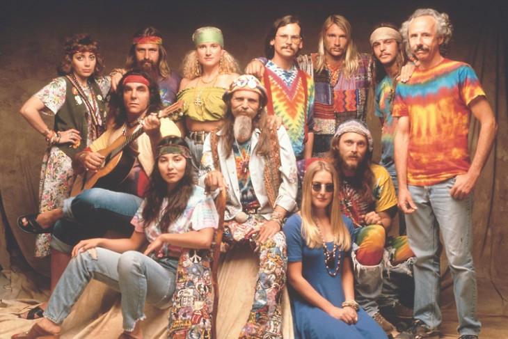 Moda Hippie de los años 60´s