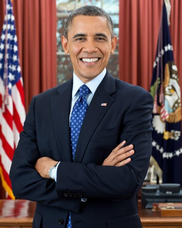 Fotografía de Barack Obama, el presidente de los Estados Unidos de América