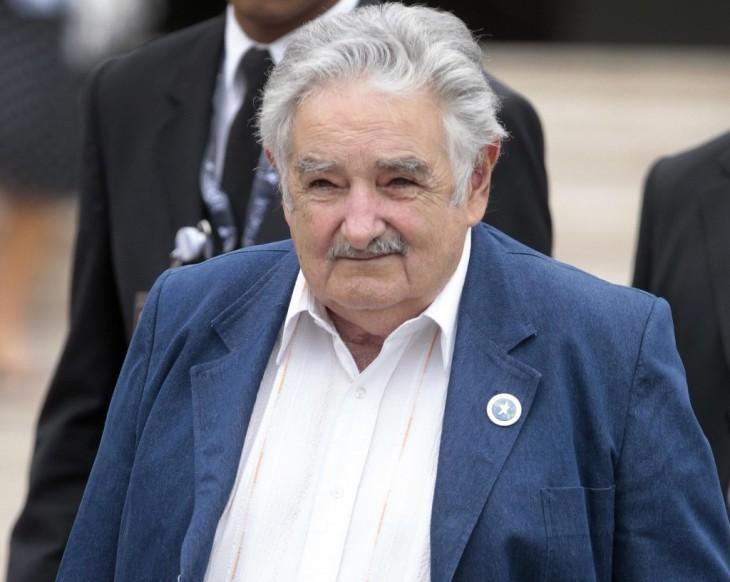 Fotografía de José Mujica el presidente de Uruguay