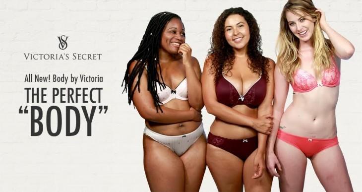 Tres chicas recrean la publicidad de Victroria Secret de cuerpo perfecto