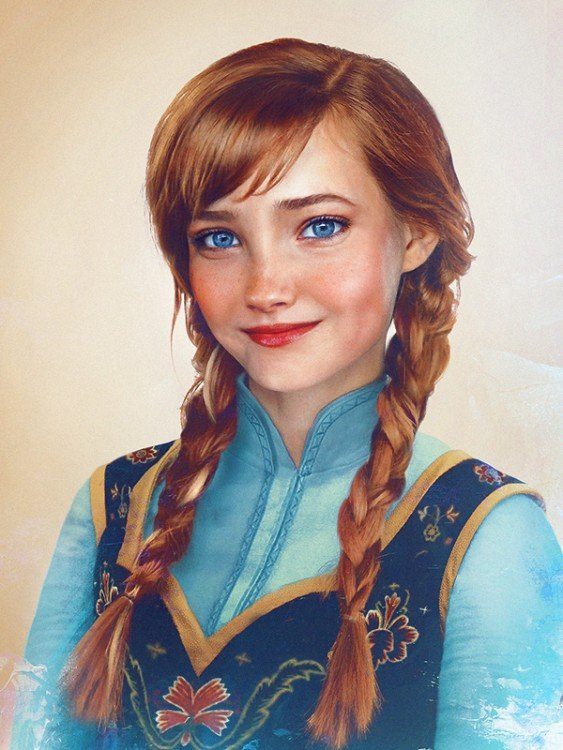 Anna de Frozen real