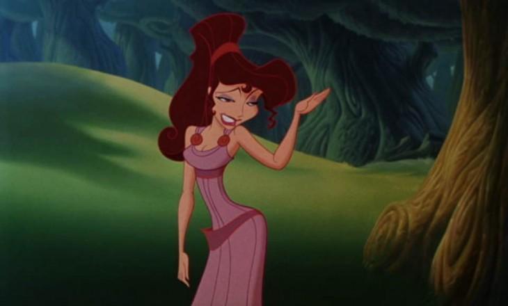 Megara la protagonista de Hércules
