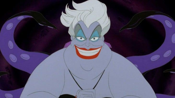 Ursula la villana de La Sirenita