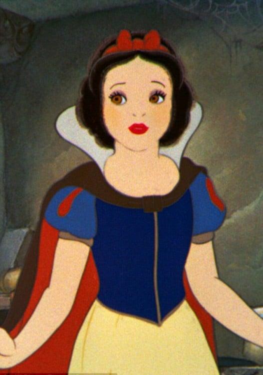 Blanca nieves personaje de Disney