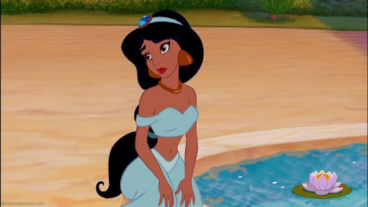 Princesa Jasmín de Aladdin