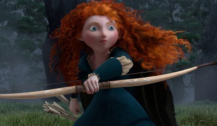 Mérida personaje de la película Valiente