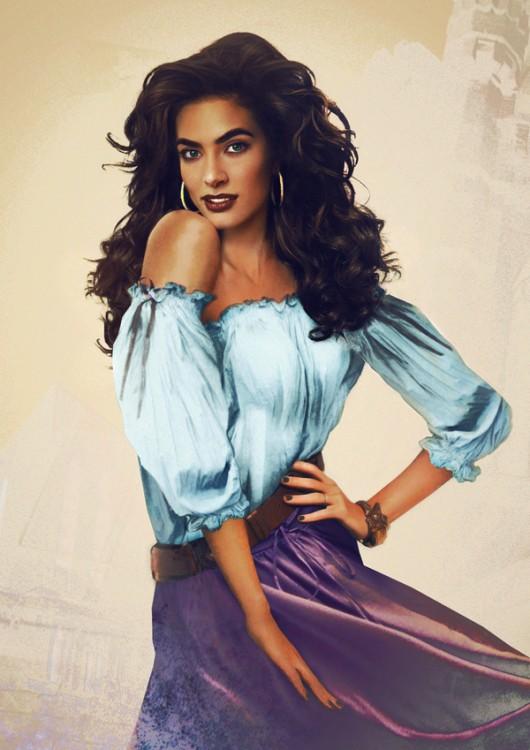 """Esmeralda """"El jorobado de Notre Dame"""" en la vida real"""