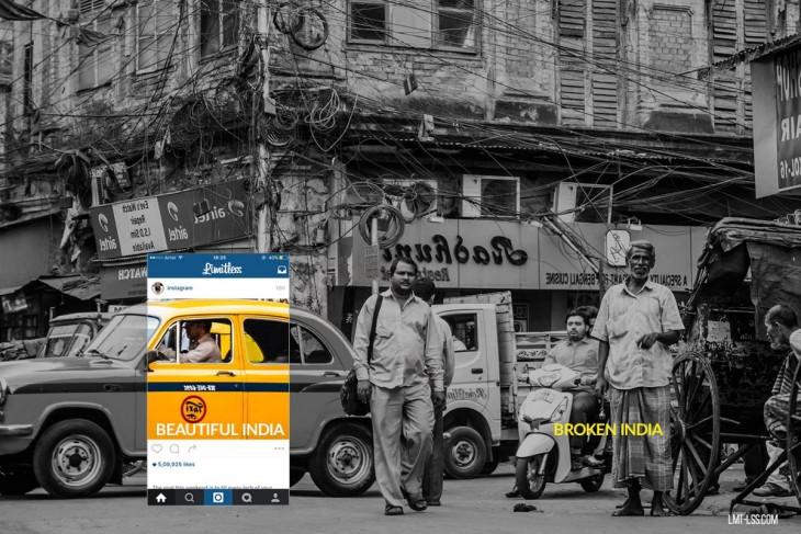 imagen detrás de India en Calcuta