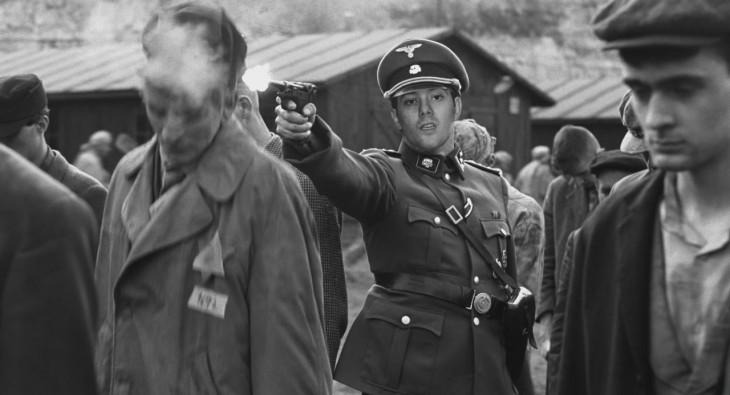 momento en el que en el territorio nazi eliminaban a los judios por discriminación