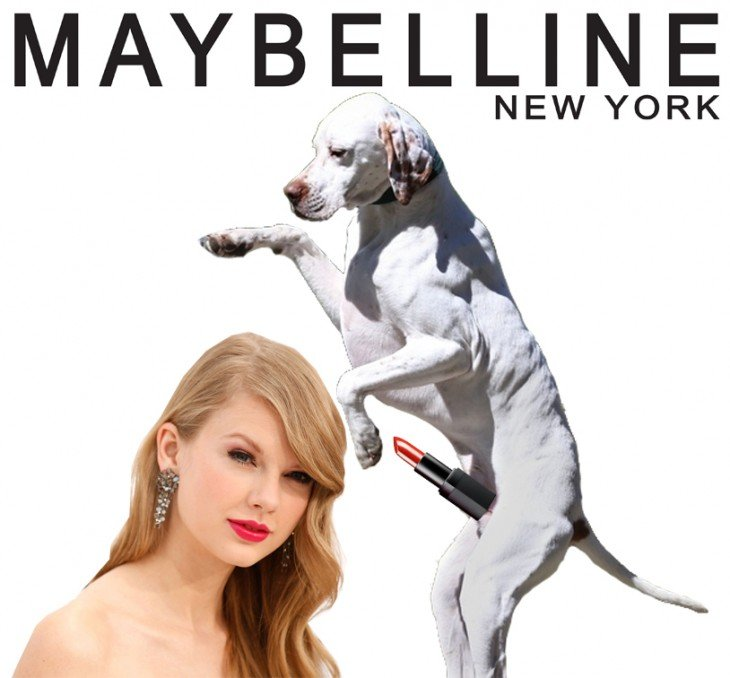 labial maybelline con taylor swift
