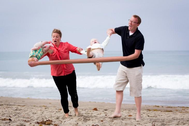 un padre muy elastico