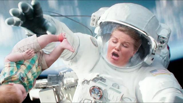 Las escenas que jamás viste en Gravity