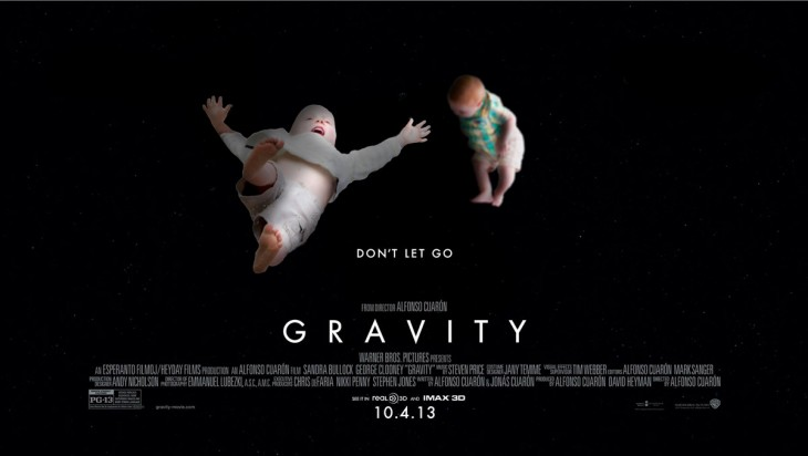 portada de la película de gravity