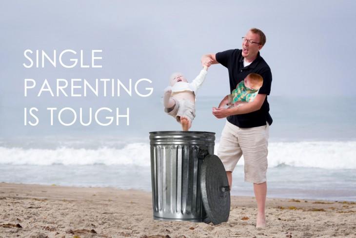 Ser padre soltero es difícil