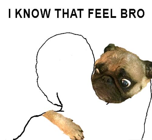 entiendo como te sientes hermano