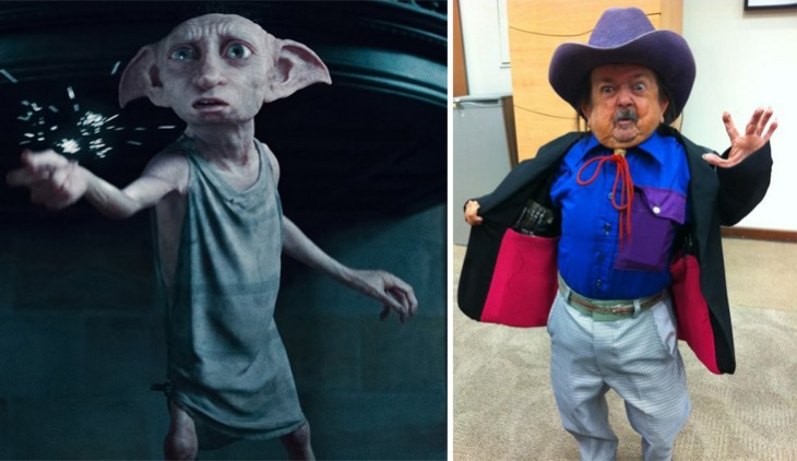 margarito se parece a dobby de harry potter