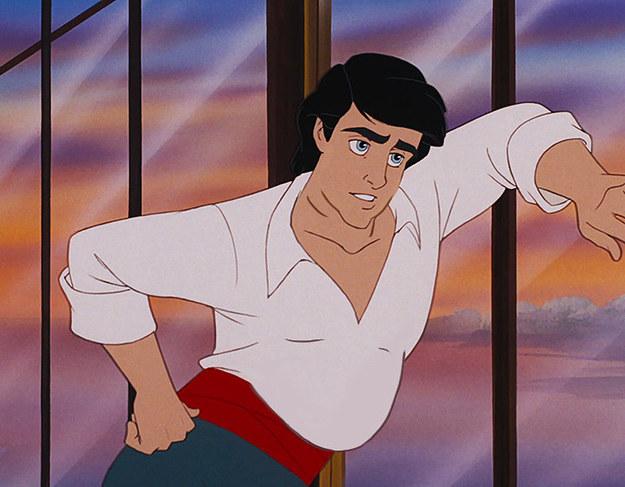 Príncipe Eric con un poco de panza y un cuerpo más real