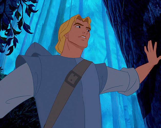 John smith de la película Pocahontas con un cuerpo un poco más real