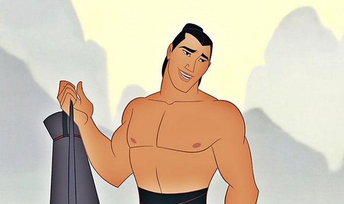 Li shang de la película Mulan