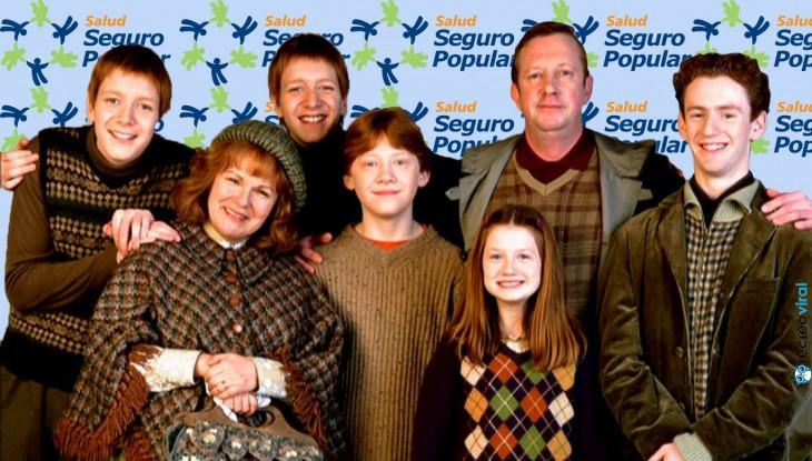 la familia wesleay en el seguro popular